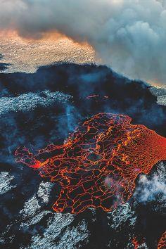 Landscape // Spider web of fire © | Assured To Inspire