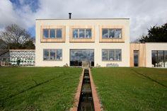 Aluminium Windows, Casement Windows, New Builds, Cladding, Contemporary, Modern, Exterior, Mansions, House Styles