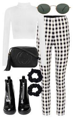 """Untitled #2459"" by mollyk99 ❤ liked on Polyvore featuring rag & bone, WearAll, Gucci, Ray-Ban and Accessorize"