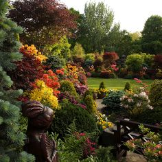 Peace and beauty in the upper garden (May 25) by Four Seasons Garden, via Flickr
