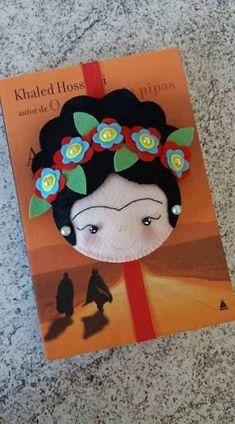 Resultado de imagem para ponteira da frida kahlo #feltdolls