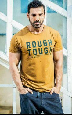 Bollywood rough and tough actor - John Abraham Bollywood Photos, Bollywood Actors, Bollywood Celebrities, Celebrities Fashion, John Abraham Body, Men Dress Up, Hot Actors, Muscular Men, Hollywood