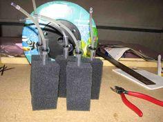 DIY filters using Poret® filter foam