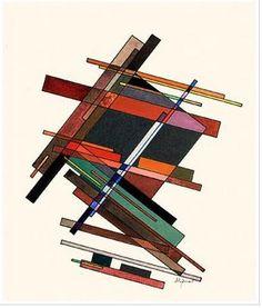 Iakov Chernikhov (1889-1951) 구성주의 / 바닥에 두고 디자인한다고 생각하면 긴장감이 생겨서 흥미로운 구조물이 나올것 같다,