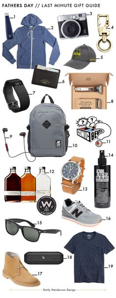 Last Minute Fathers Day Gift Guide – (For Dudes Like Brian)