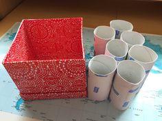 Hylsyt hyötykäyttöön!  #toilet paper roll #vessapaperi rulla