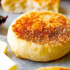 Authentic English Muffins made in the comfort of your own home. You'll never turn to the store-bought kind again!