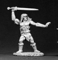 Reaper Miniatures :: Dark Heaven Miniatures: Traeg Barbarian
