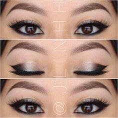 Japanese Eye makeup tutorial