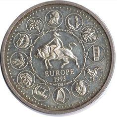 Rock Lee, Cactus, Coins, Batman, Europe, America, Coin Art, Silver Coins, Door Bells
