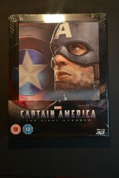 Captain #america #steelbook #blu-ray: the first avenger 3d & 2d lenticular new mi,  View more on the LINK: http://www.zeppy.io/product/gb/2/162235755688/