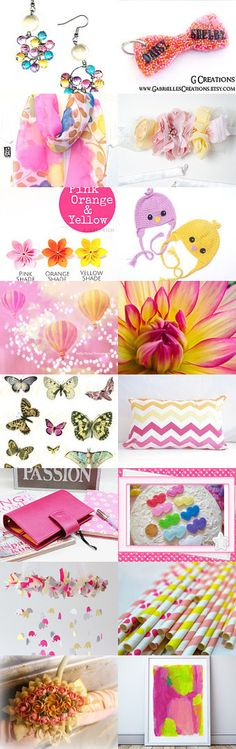 Spring Brights by Gabbie on Etsy