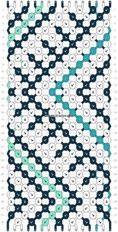 Normal pattern #37101 variation #54664 | BraceletBook Yarn Bracelets, Embroidery Bracelets, Braided Bracelets, Bracelet Making, Jewelry Making, Diy Ideas, Craft Ideas, Diy Friendship Bracelets Patterns, Bracelet Tutorial
