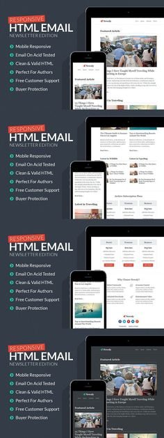 Responsive Business Email Template Business emails, Responsive - business email template