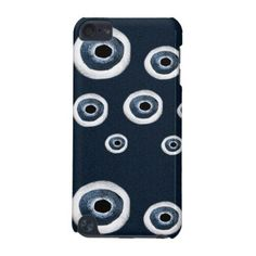 Weaved Circles Pattern iPod Touch (5th Generation) Case - pattern sample design template diy cyo customize