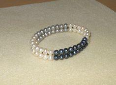 Perfect Pearl bracelet/Genuine freshwater by CreationsbyMaryEllen, $17.99