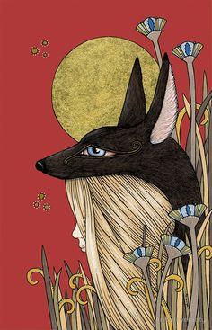 Anubis by Anita Inverarity