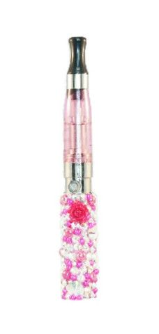Soo cute!! Crystals and pink roses in love i NEED this love this vape pen. My favorite site so far AND free shipping