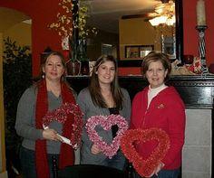 Primitive Valentine Crafts   SUSAN'S COLORFUL LIFE: Valentine's Scrappy Heart Craft Day