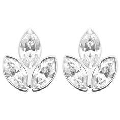 Azalea Pierced Earrings from Swarovski on Catalog Spree Swarovski Jewelry, Crystal Jewelry, Swarovski Crystals, Stone Jewelry, Jewelry Shop, Jewelry Accessories, Fashion Jewelry, Silver Earrings, Pierced Earrings