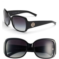 Oversized Square Sunglasses - Tory Burch