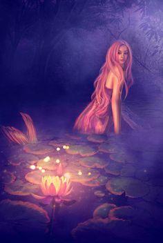 bubblemelon:  ~ Lotus Mermaid ~