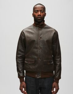G1S G-1 LEATHER FLIGHT JACKET from $725.00 | CLOTHES | Pinterest ...