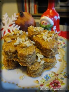 Lookcool...λεια γεύματα! : Μελομακάρονα με πίτουρο βρώμης