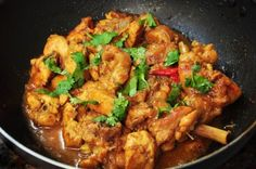 One-Pot Curried Coconut Chicken is tasty and pretty simple to put together too.  #currychicken #healthychickenrecipes