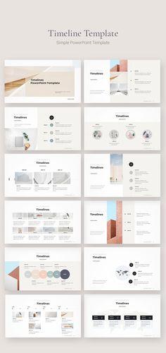 Ppt Design, Ppt Template Design, Design Brochure, Slide Design, Powerpoint Presentation Slides, Presentation Board Design, Power Point Presentation, Timeline Ppt, Timeline Design