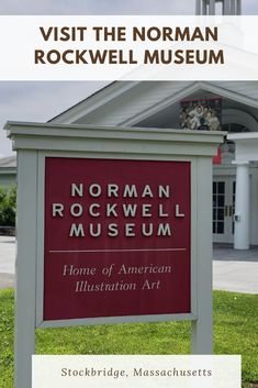 The Norman Rockwell Museum in Stockbridge, Massachusetts is one of the most kid-friendly art museums around find out why your family needs to plan a visit. #Berkshires American Illustration, Illustration Art, Travel With Kids, Family Travel, Stockbridge Massachusetts, Kid Friendly Art, Norman Rockwell, Best Places To Travel, East Coast