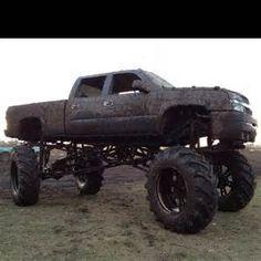 Chevy mud truck | Big mud trucks