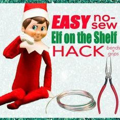 In 2012 I had a thought- why not add bendable wires to the inside of my Elf on the Shelf?! I had so many fun ideas for him but quite frankly, he wasn't up to the task with his wimpy body. Not lon...