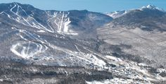 Smugglers Notch Ski Resort, Vermont *one day we'll get there and ski again! * #missthat