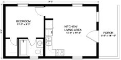 400 sq ft apartment floor plan google search 400 sq ft for Mother in law quarters plans