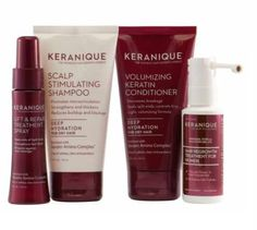 Keranique Color Boost Scalp Revitalizing Shampoo is a sulfate-free, gentle cleansing product fortified with nourishing elements. It is not merely a shampoo, but a hair tonic that nourishes, moisturizes, protects, and repairs hair, all the while maintaining depth and sheen of your hair color.