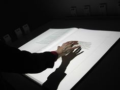 Interactive Illuminated Manuscript.  I love these interactive Books much more than all touchtables.