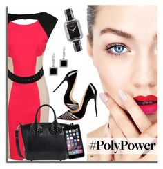 What's Your Power Outfit? by defineyourstyle on Polyvore featuring polyvore, fashion, style, Little Mistress, Christian Louboutin, Chanel, Kobelli, Coveroo, clothing and PolyPower