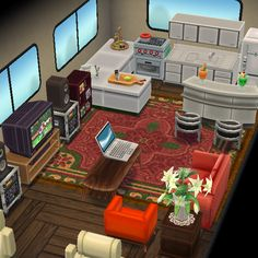 Animal Crossing Pocket Camp camper inspiration