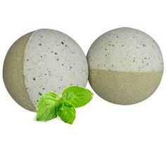 Sinus Relief Bath Bomb Recipe - maybe use mint tea ground finely in this