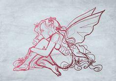 Croquis de fées pour tatouage (2) - Last Impression