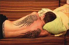 wings tattoo back - Cerca con Google