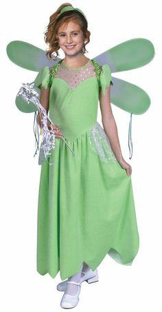Pixie costume includes long dress & headband.  #saintpatricksday #saintpatricks  #pattys #day