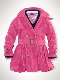 Trench Coat - Outerwear & Jackets  Girls 7–16 - RalphLauren