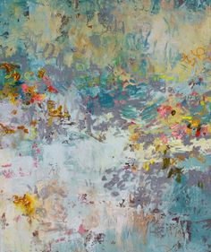 Abstract oil Painting, modern art by Amy Donaldson