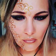 Chrysalide Enjoy Make up · Maquillage Elfique