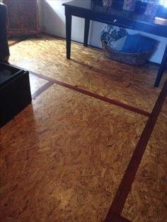 DIY OSB Board Flooring