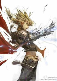 Cool drawing of Edward Elric