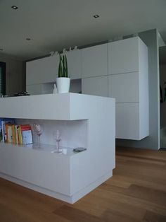 Küchenbereich: minimalistische Küche von mattes+eppmann architekten