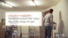 The brand new LED tubes SubstiTUBE Value from OSRAM